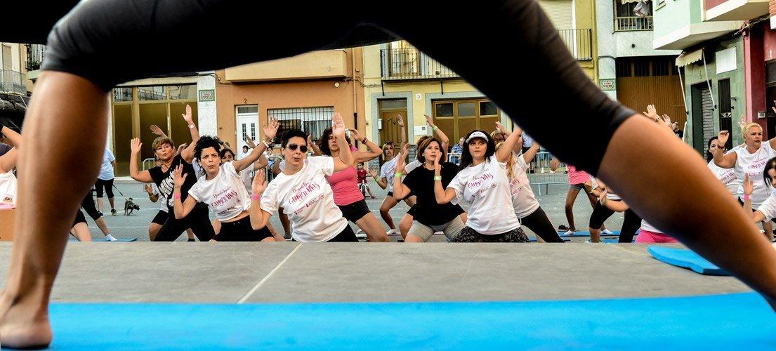 Elevada participación en la Jornada Deportiva Carmen Vivas