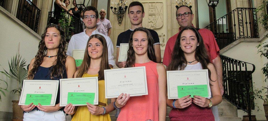 Segorbe premia el esfuerzo estudiantil