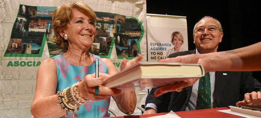 Esperanza Aguirre hace un autoanálisis crítico