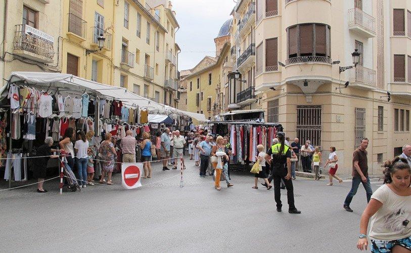 Último Mercado celebrado en Segorbe. Foto:J.Plasensia