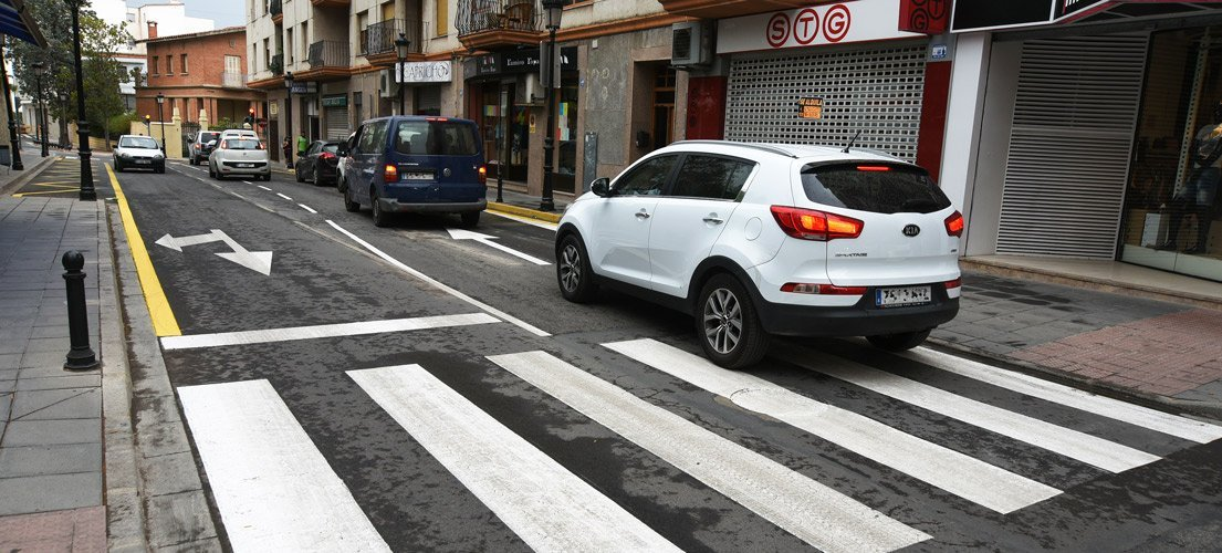 Segorbe suprime un carril de la calle Alicante