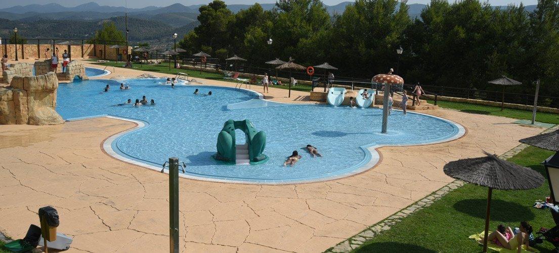 Salvan a un niño de ahogarse en el Segóbriga Park