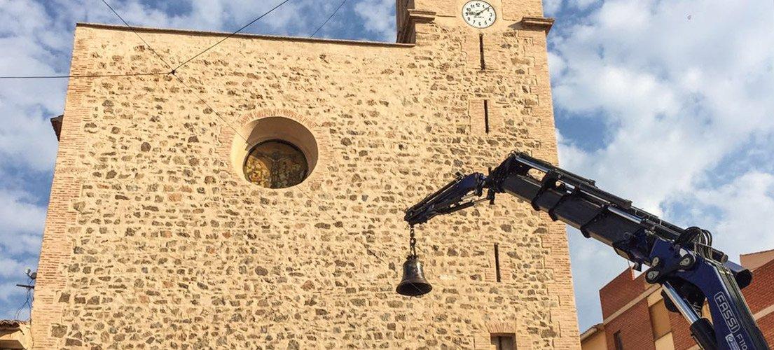 La campana de Torás regresa al campanario