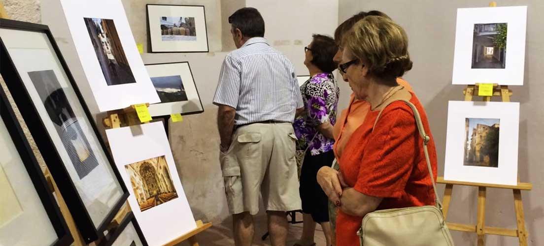 Fotografía y pintura en Jérica