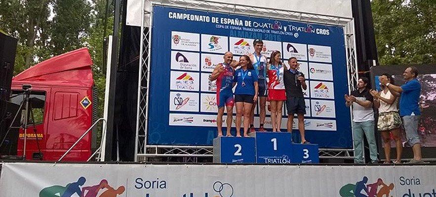 Plata en el Campeonato de España de Triatlón Cross