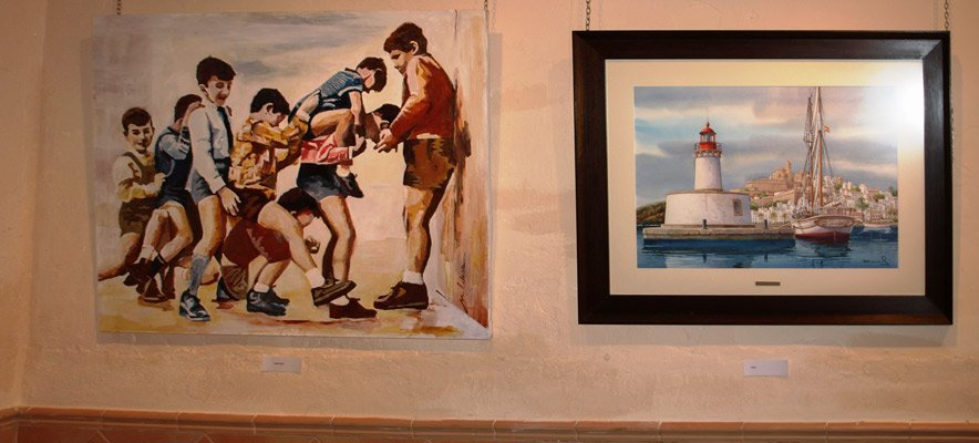 35 años de exposiciones colectivas en Navajas