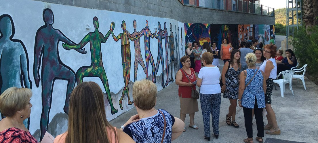 Geldo dedica un espacio al arte mural