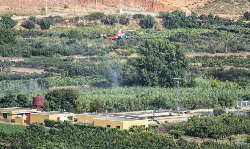 Dos incendios en Segorbe y Azúebar
