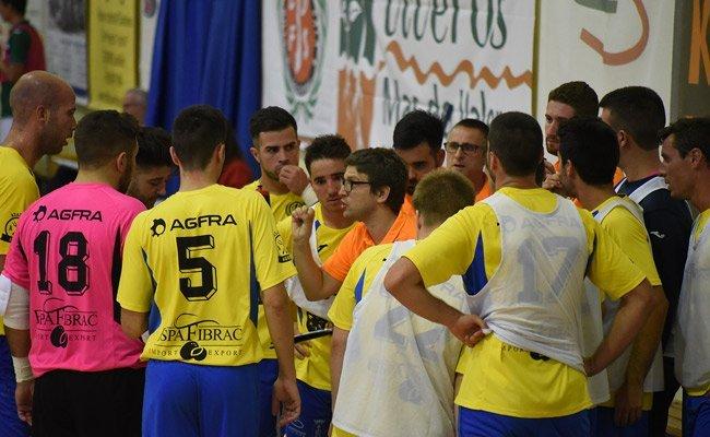 Duelo entre el CDFS Segorbe y el Guadalajara FS