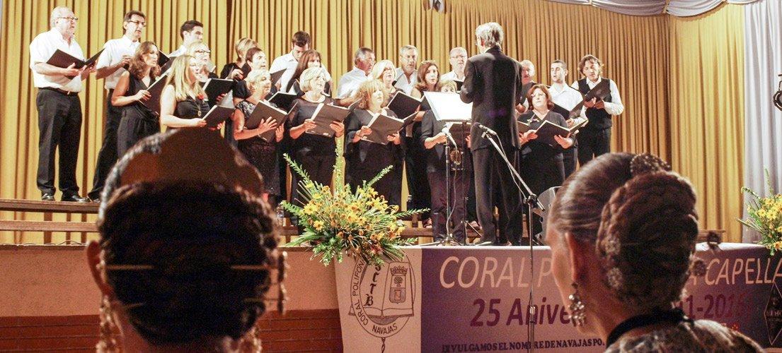 «A Capella» vuelve a actuar en Navajas