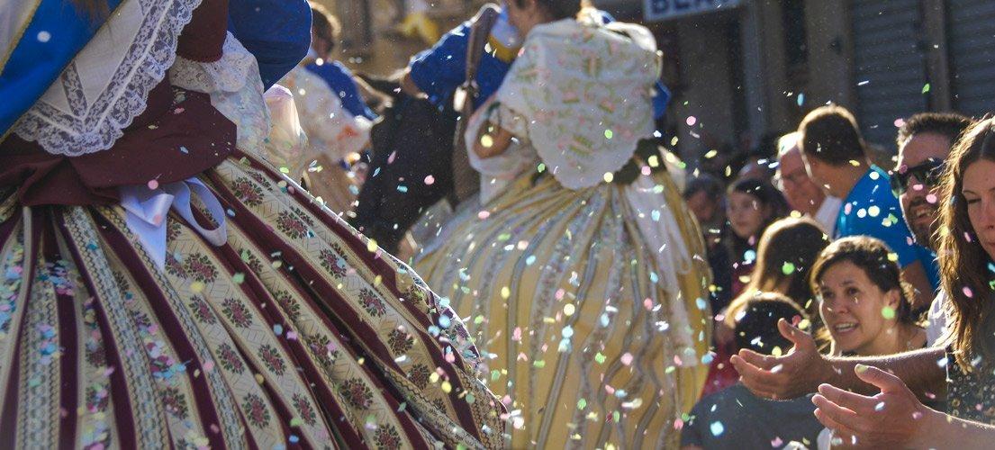 Segorbe celebra una multitudinaria Enramá