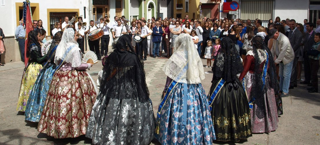 Navajas celebra la festividad de su patrona