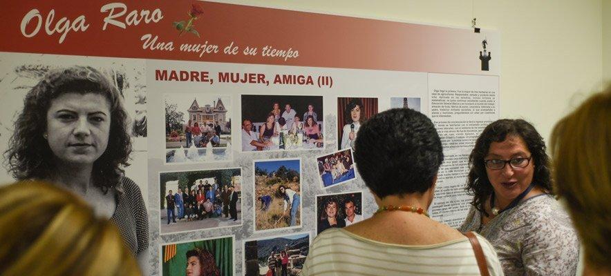 Programa actos homenaje Olga Raro