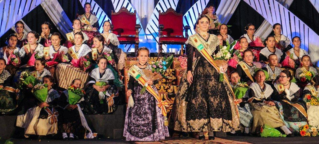 Presentación Reinas de las fiestas de Jérica