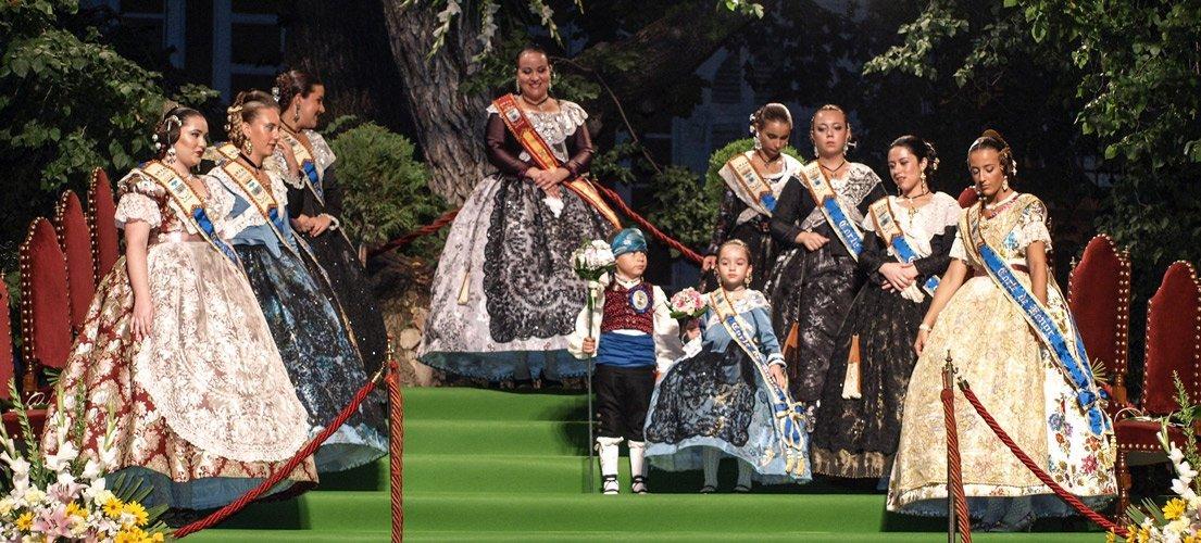 Presentación de la Reina de las Fiestas de Navajas