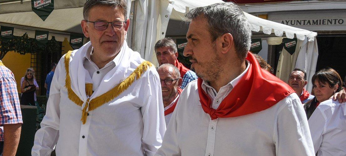 La visita de Puig enfrenta al bipartito segorbino