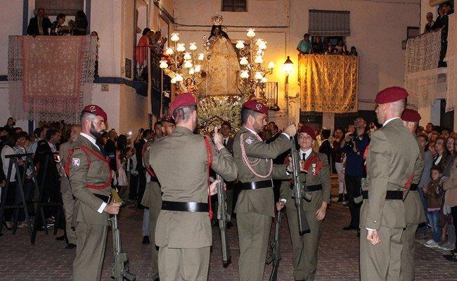 Los alturanos  celebran hoy la  Virgen de Gracia