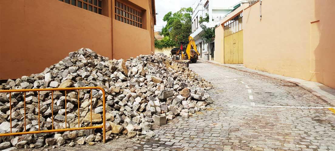 Los PPOYS crean aceras en Segorbe