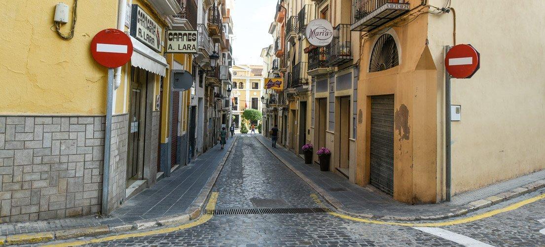 La calle Los Aladreros recupera su antiguo nombre