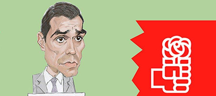 La División del PSOE vista con humor