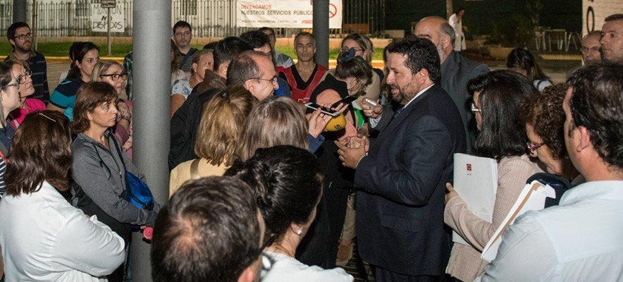 Diputación contraria a los recortes hospitalarios de Montón