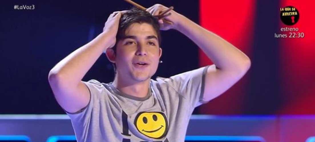 Melendi elige en La Voz a un concursante de Altura