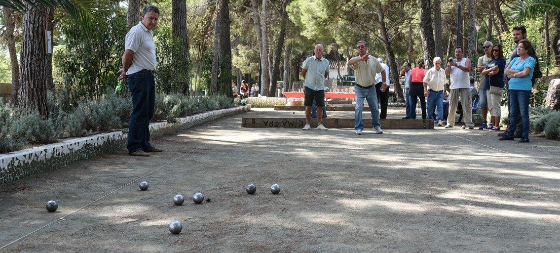 Campeonato local de petanca villa de Altura