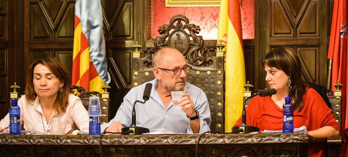 Gómez utiliza el voto de calidad ante la ausencia de Magdalena