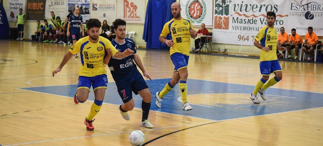 El fútbol sala Segorbe consigue una ajustada victoria