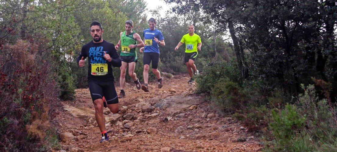 Más de 300 corredores en el I Trail Molinos de Viver