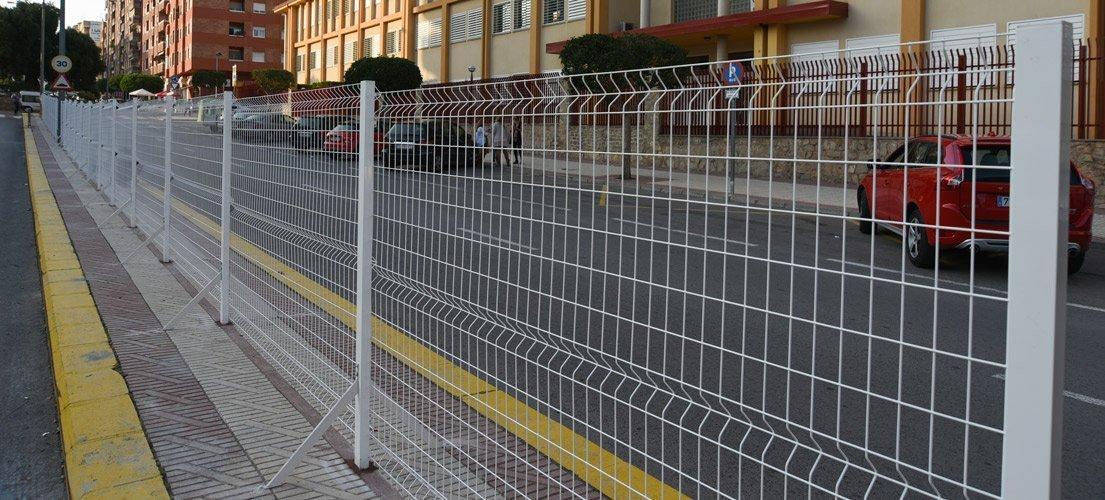 Segorbe valla la mediana de la avenida España