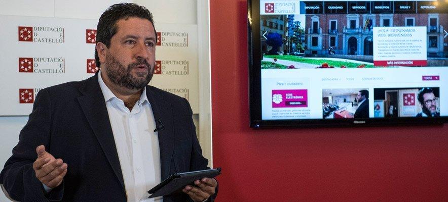Diputación de Castellón estrena web responsive