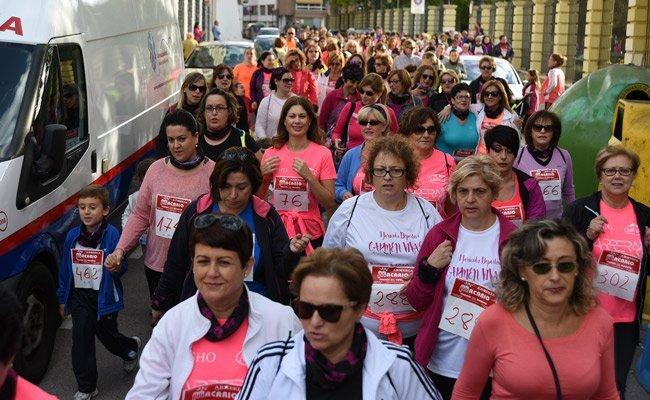 Incremento de participación en la II Marcha ASAC