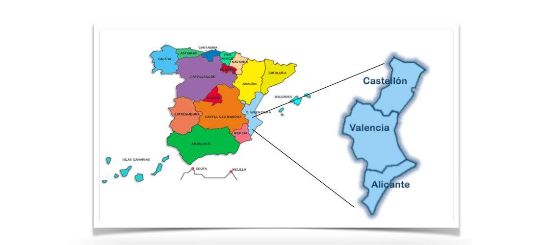 Economía de la Comunidad Valenciana y Española