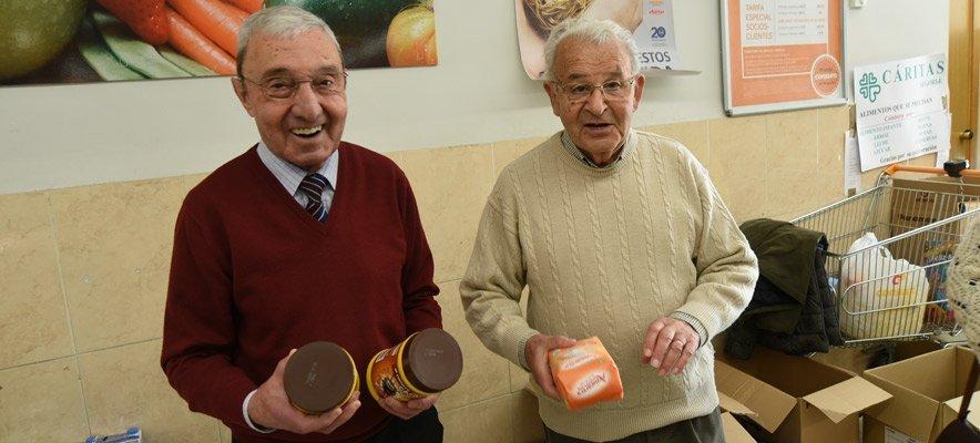 Exitosa campaña de recogida de alimentos