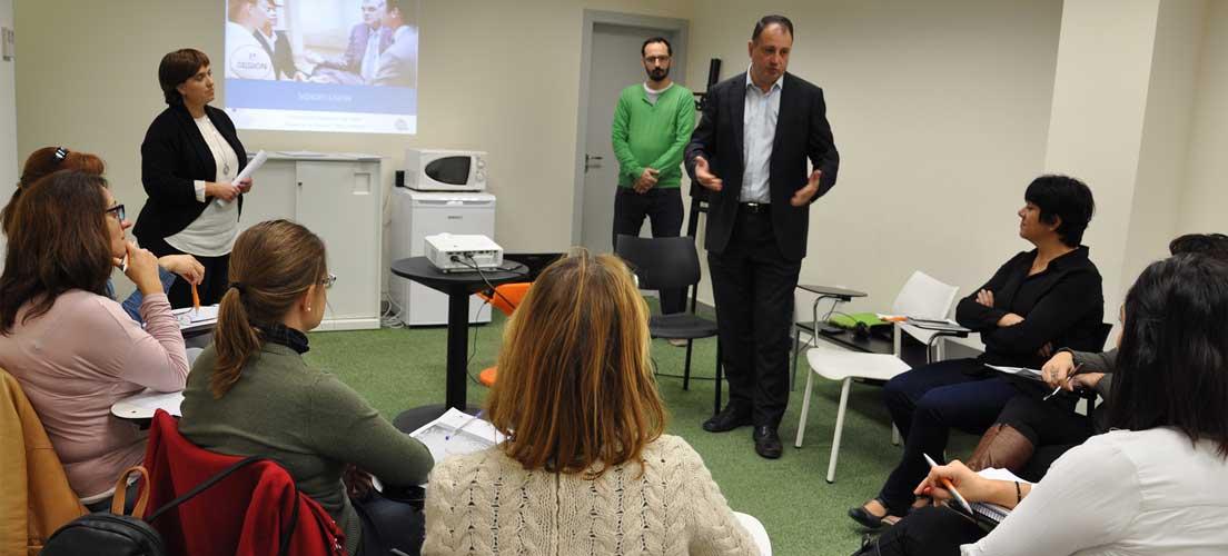 Aguilella inaugura en Segorbe un curso mindfulness en el Cedes