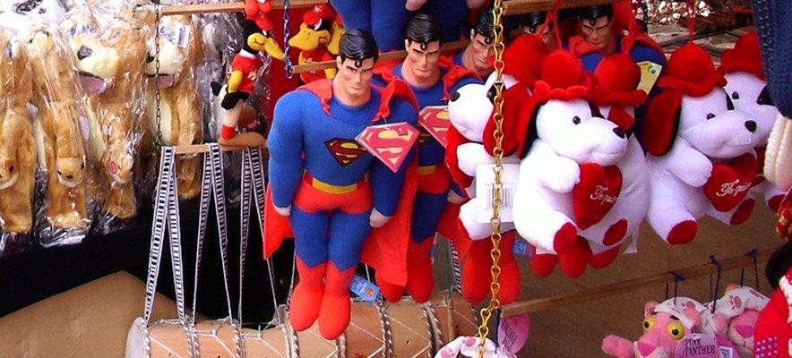 Recogida de juguetes para los niños pobres