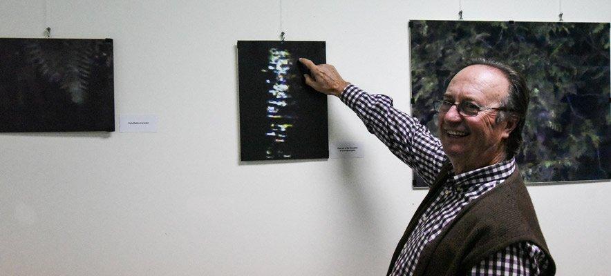 Exposición pareidolia de Zarzoso en el Centro Cultural