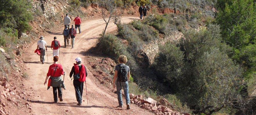 Caminando desde Valldecrist a Portaceli