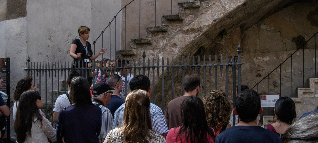 Las visitas guiadas de Segorbe atraen a 352 personas en 10  meses