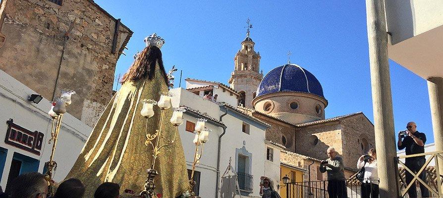 Altura pide ayuda contra el coronavirus a la Virgen de Gracia