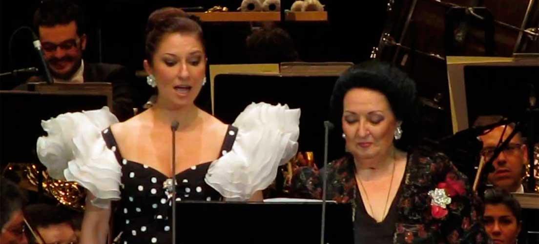 Aplazado el concierto solidario de Caballé y Montolío