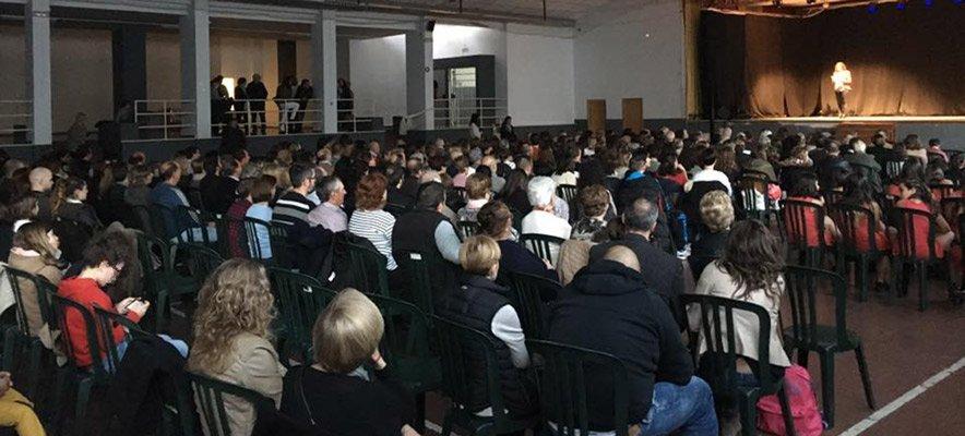 Exitosa gala solidaria en Altura