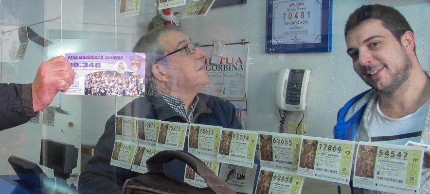 Comprueba tus décimos de lotería aquí