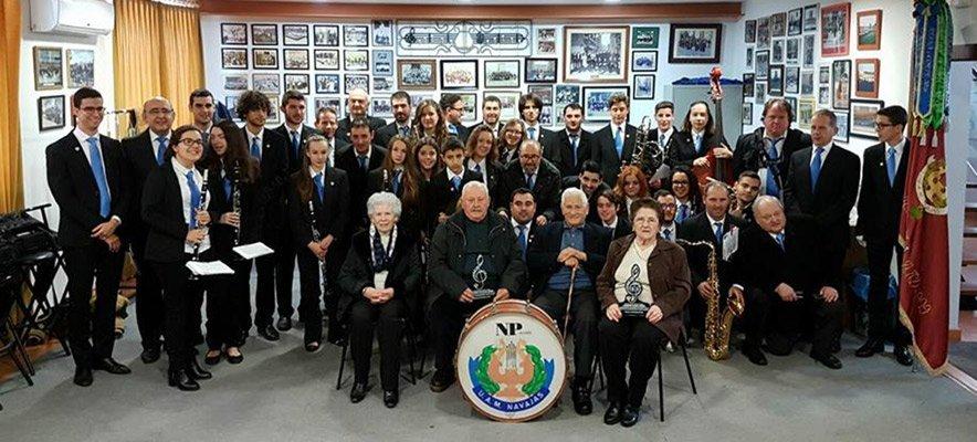 La Musical de Navajas homenajea a sus socios más longevos