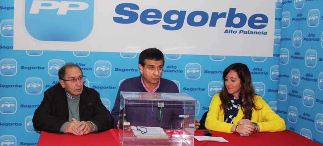 PP Segorbe elige a los compromisarios para el Congreso Nacional