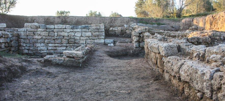 Viver recupera una villa romana de tipo agrícola