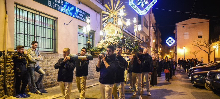 Segorbe celebró ayer la festividad del Loreto