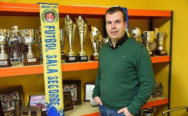 presidente del CDFS orgulloso de los 120 jugadores del club