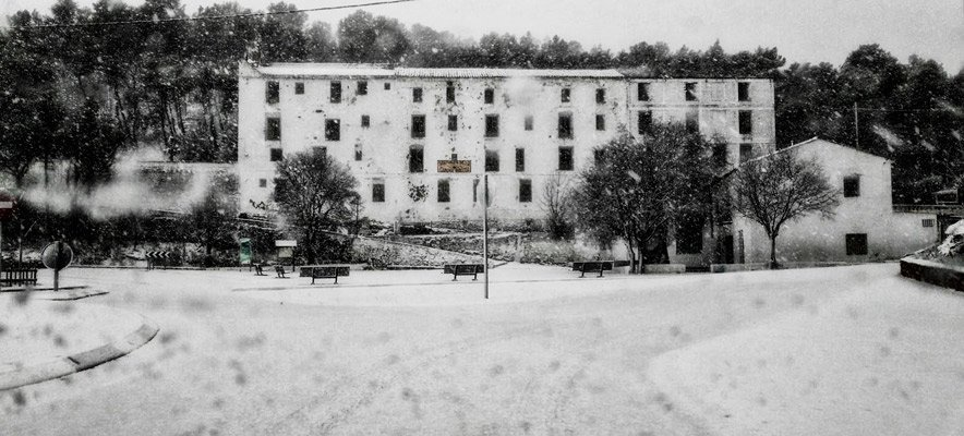 La nieve llega a la comarca del Alto Palancia